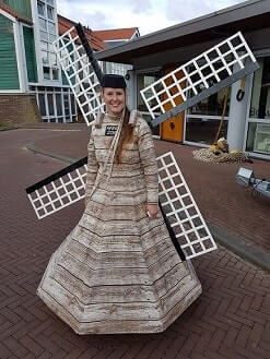 The Windmill Lady www.oudhollandsentertainment.nl