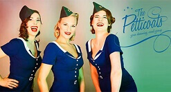 Trio The Petticoats wwww.oudhollandsentertainment.nl